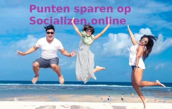 Punten sparen met je activiteiten op socializen