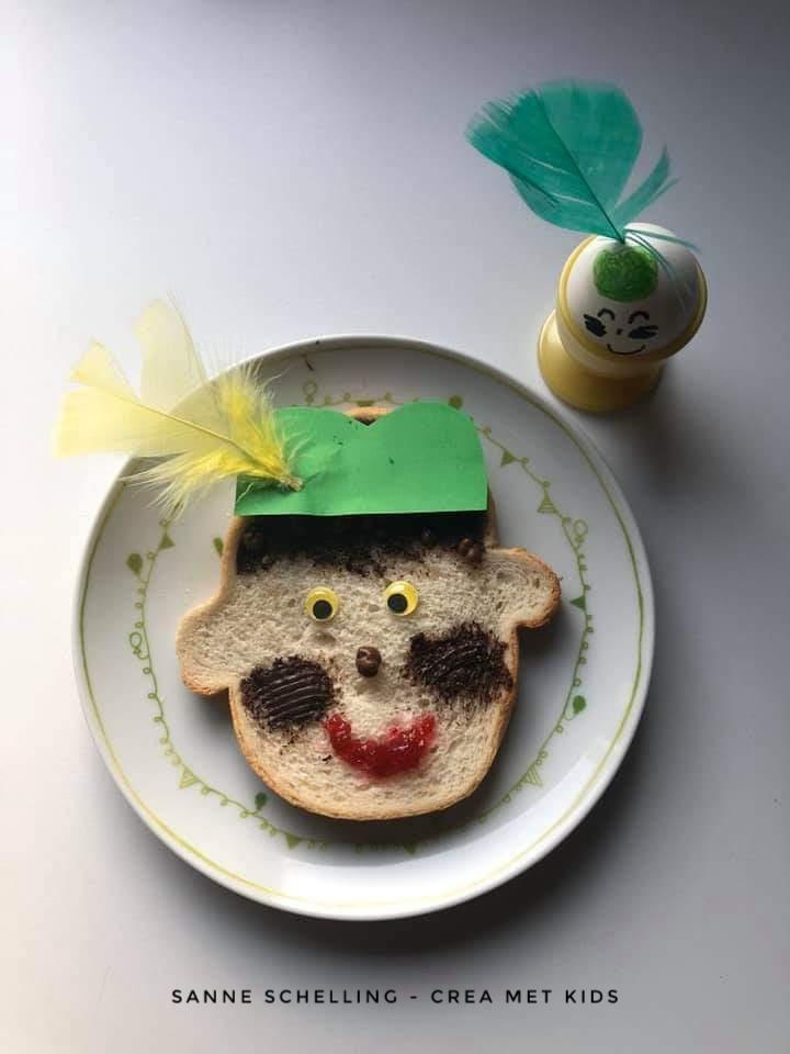 Sinterklaas Foodfun » Crea met kids