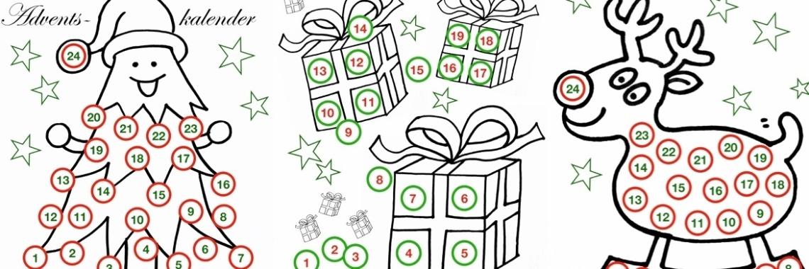 Hoeveel nachtjes slapen tot Kerst? Adventskalender. » Crea met kids
