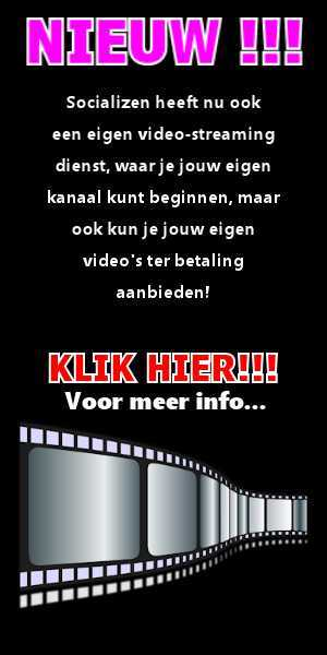 Upload jouw video's nu naar de Video streaming dienst van Socializen.Online!!!