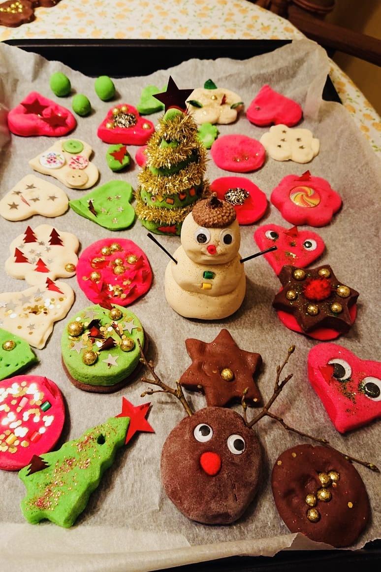Zoutdeeg kerstversiering maken » Crea met kids