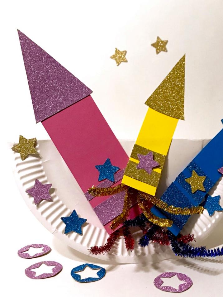 Vuurpijlen op een wiebelbordje » Crea met kids