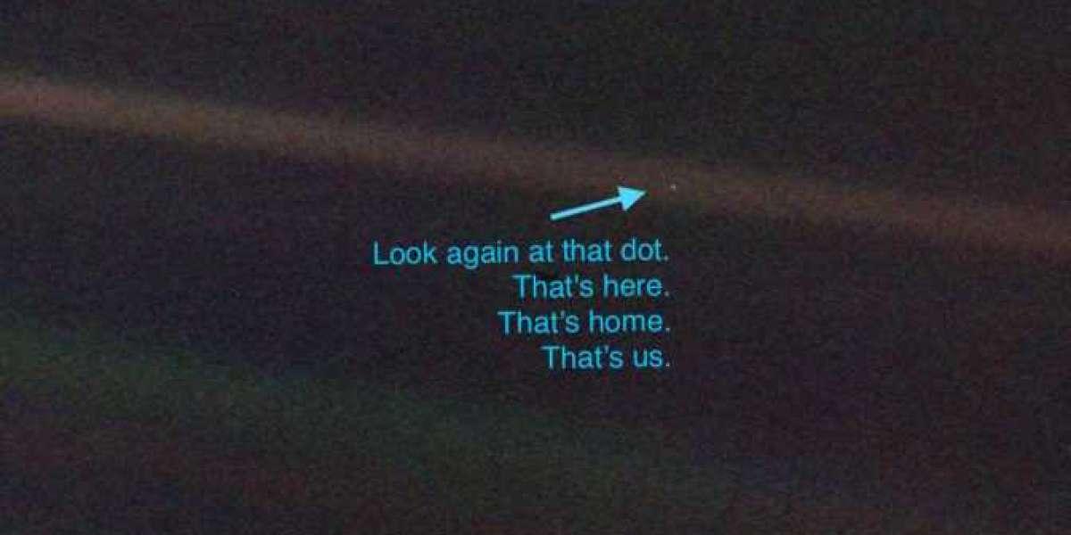 Blog --> A pale blue dot
