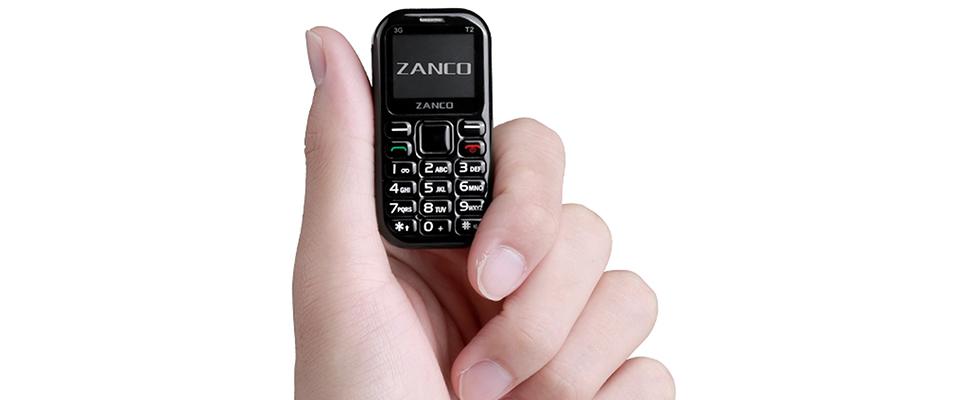 Zanco Tiny T2: piepklein telefoontje met grote ambities               | Computer Idee