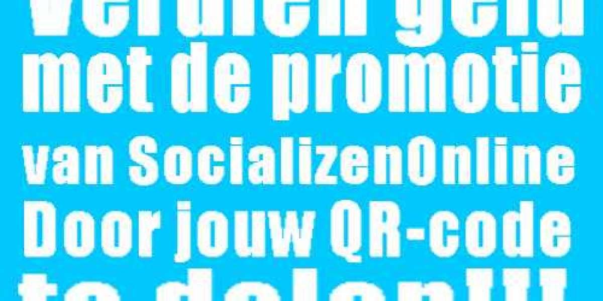 Verdien geld met ledenwerving voor SocializenOnline door het delen van een simpele QR-code