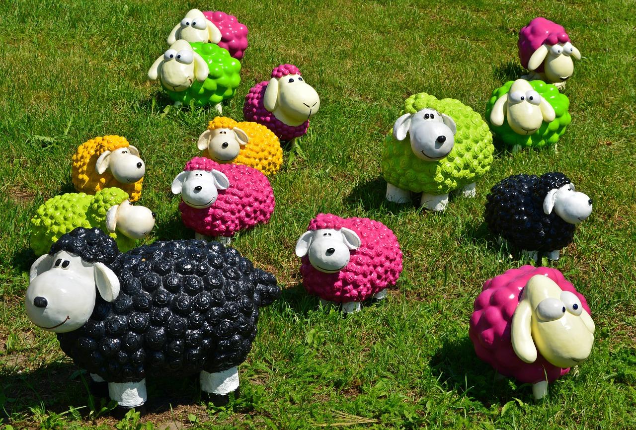 12 schapen knutsels » Crea met kids