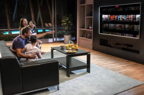 Groeiend aantal tv-kijkers zonder vaste tv-aansluiting - Mediafacts
