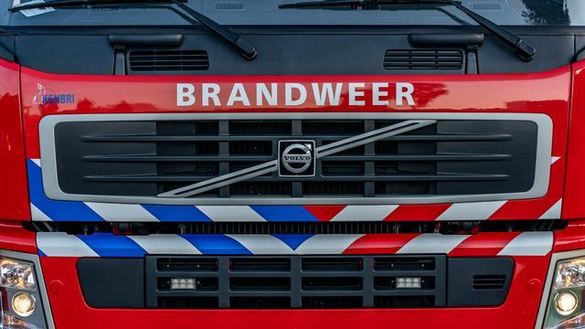 Zeer grote brand bij afvalverwerker in Drentse plaats Wijster