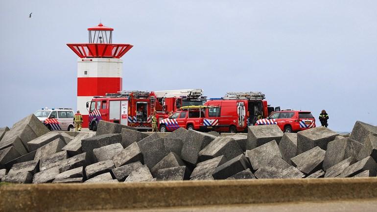 Lichaam gevonden bij Noordelijk Havenhoofd Scheveningen - Omroep West