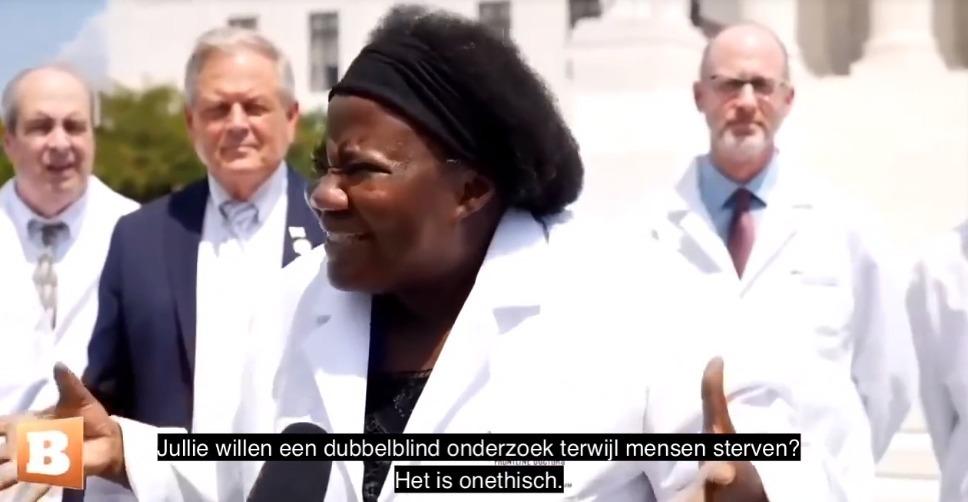 Dokter Stella Immanuel genas al haar 350 patiënten met het Zelenko protocol - Zelfzorg Covid19