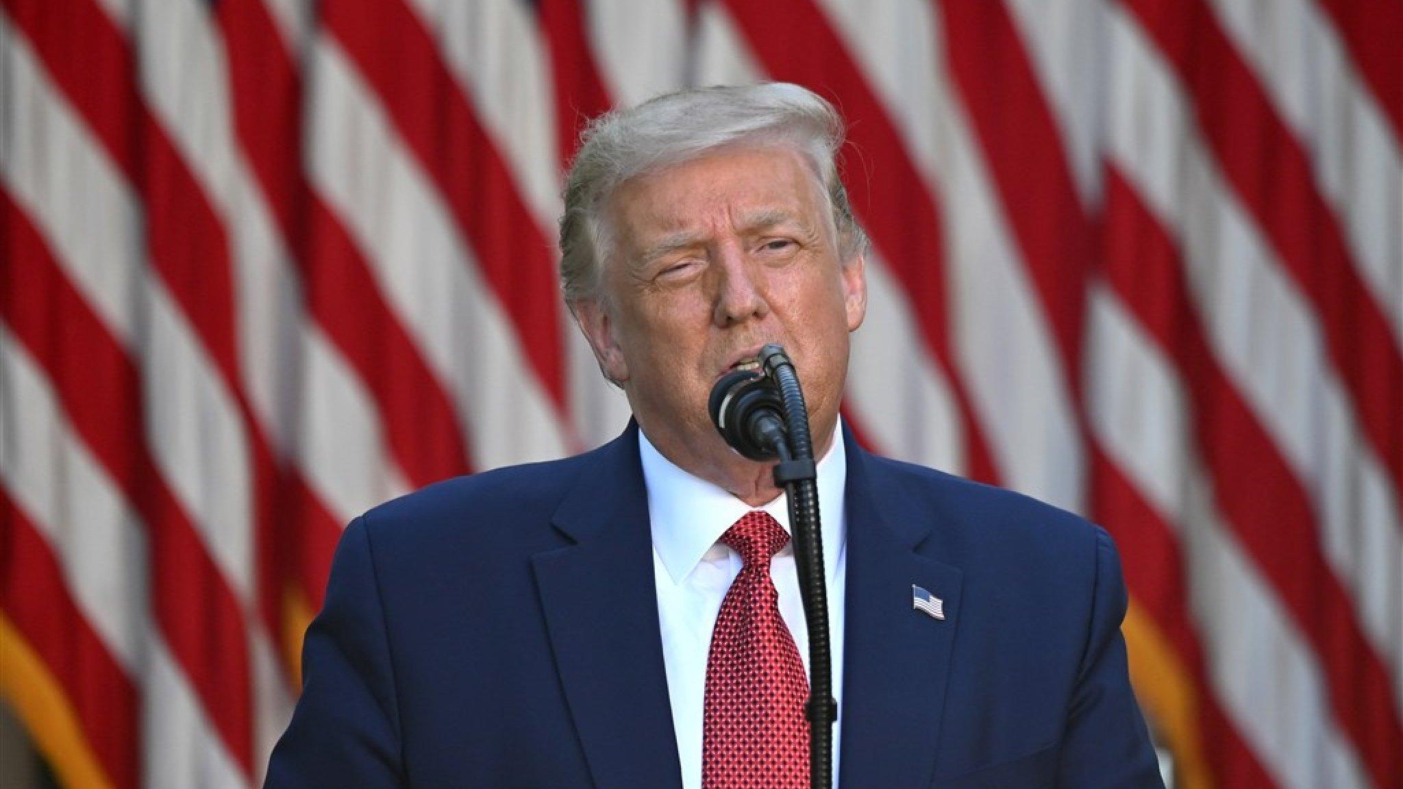 Trump zet streep door speciale behandeling Hongkong    RTL Nieuws