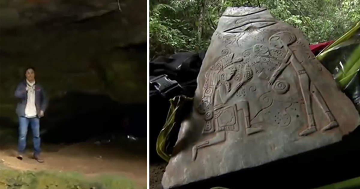 Ancient Jade Stones Depicting Friendly Alien Contact Discovered in a Cave in Mexico - Make Known