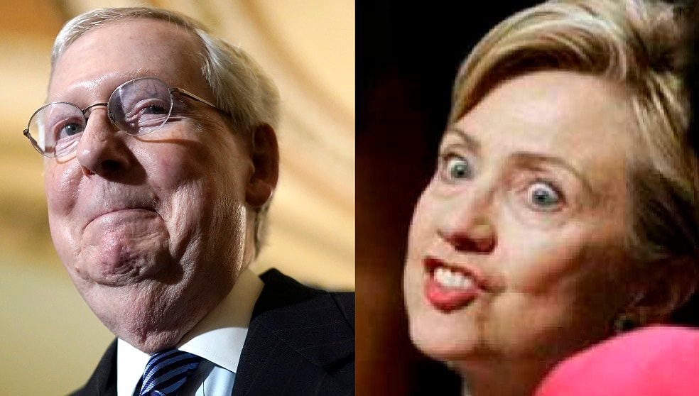 Mitch Mcconnell Sets Amy Coney Barrett's Confirmation - Hillary Clinton's Birthday (VIDEO)