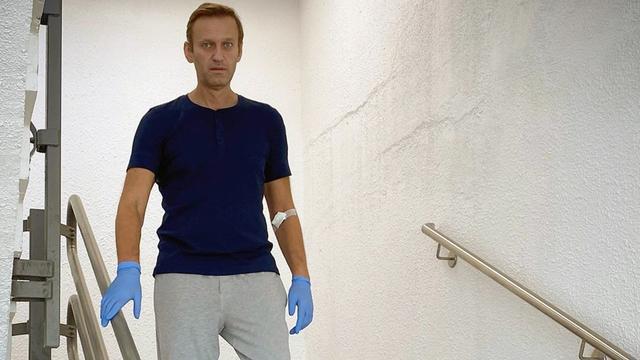 Russische oppositieleider Navalny: Poetin zit achter vergiftiging