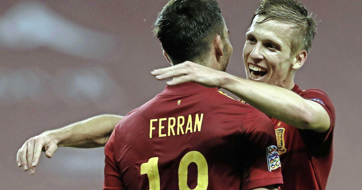 Spanje geeft Duitsland voetballes: 6-0 | Voetbal | Telegraaf.nl