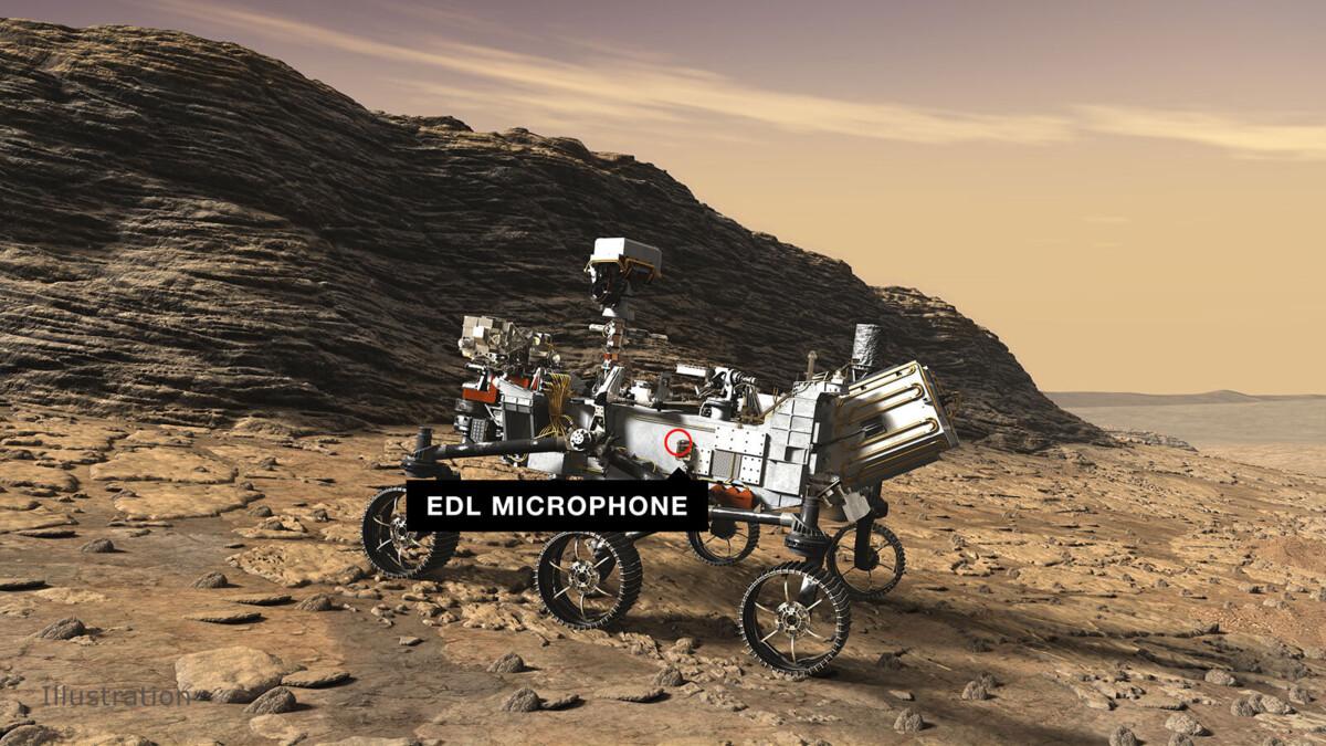Wat hoor je op Mars? Marsrover Perseverance gaat het uitzoeken!