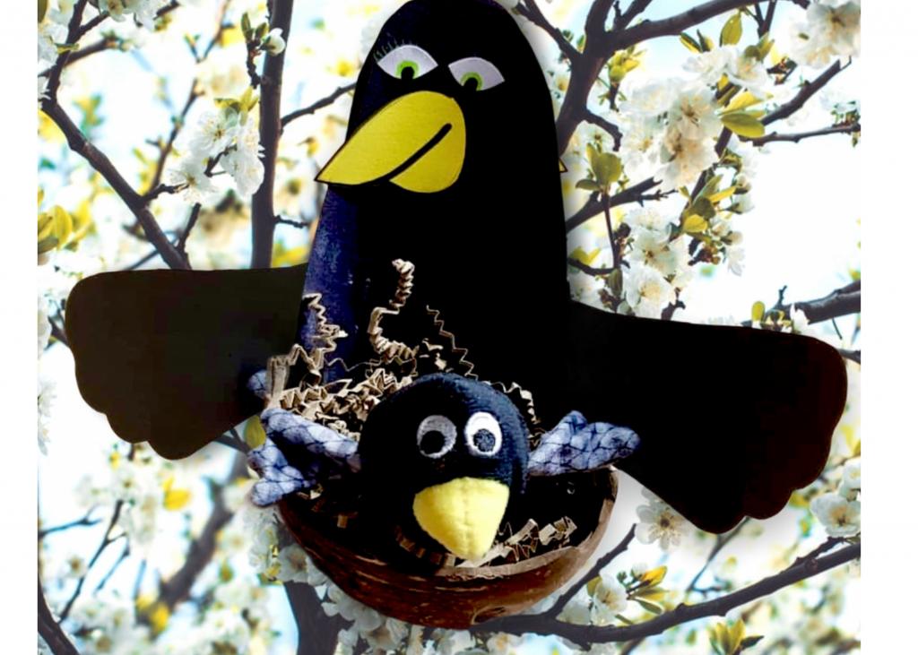Coco kan het - vogel knutselen » Crea met kids