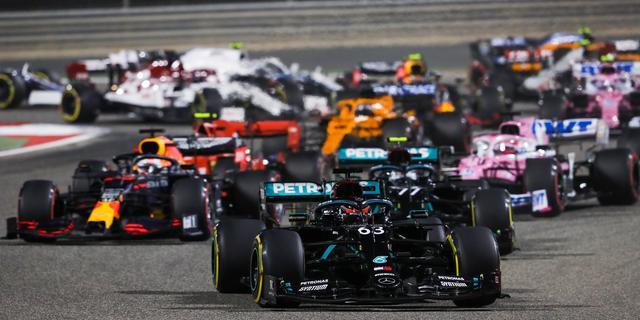 Formule 1-seizoen begint met GP Bahrein, race op Imola vervangt China