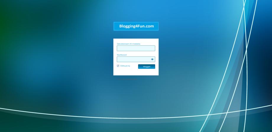 WordPress inlogpagina aanpassen aan de stijl van de website – Weblog van P.R, Webservices