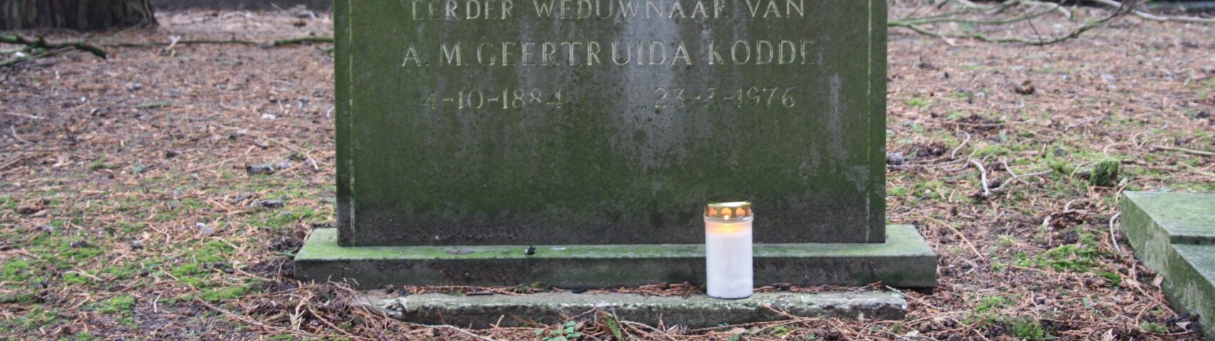 In de voetsporen van mijn overgrootmoeder Anna Maria Geertruida Kodde – Marjolein schrijft over …