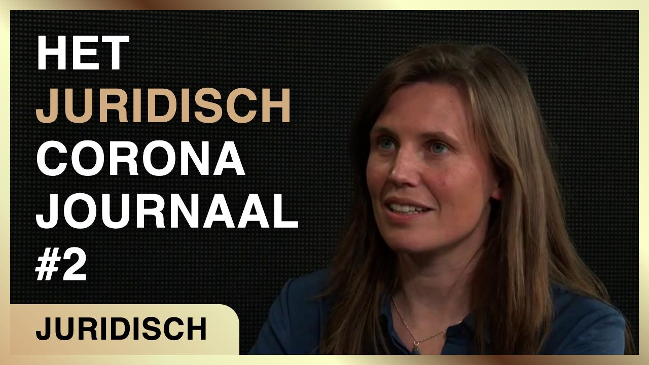 Het Juridisch Corona Journaal #2 - Isa Kriens en Frank Stadermann - Café Weltschmerz