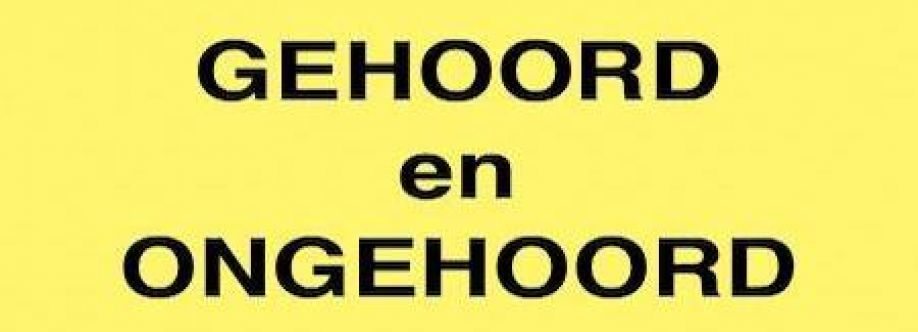 GEHOORDenONGEHOORD