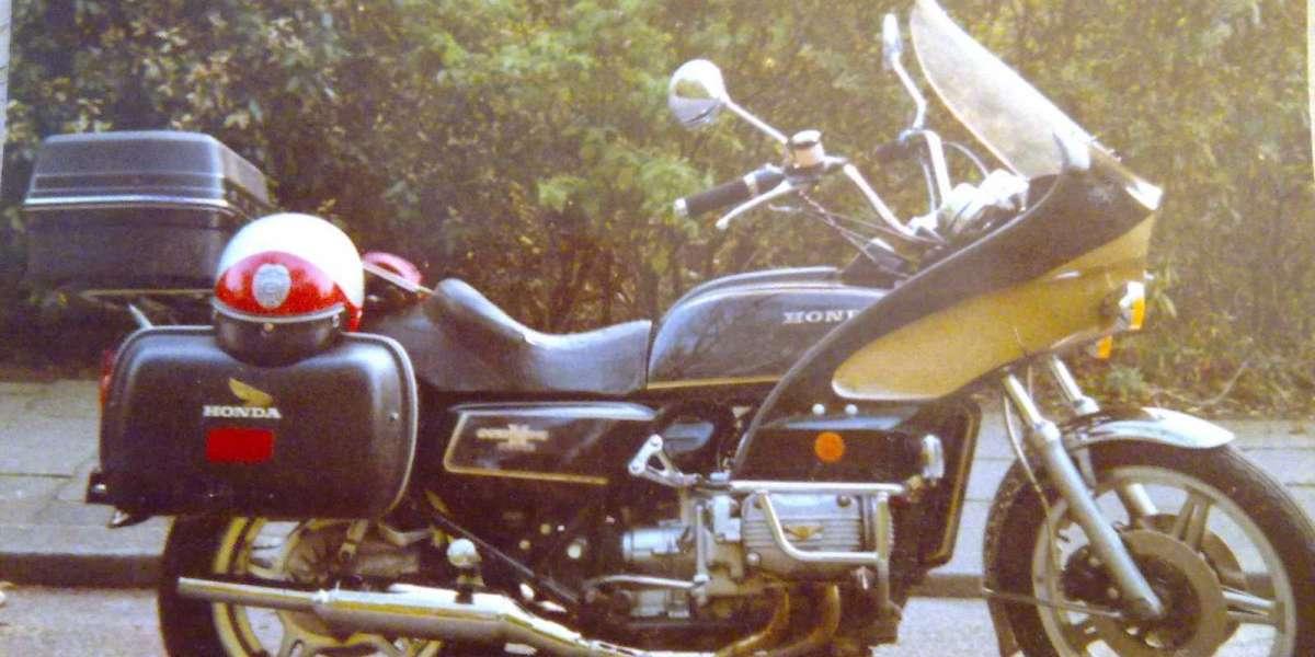 1990 Met de Honda GoldWing GL1000K3 naar Noorwegen