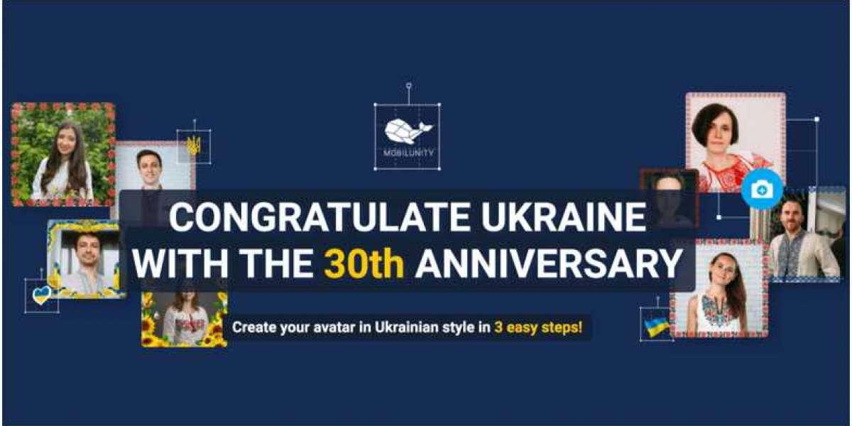 Creëer je Oekraïense avatar voor de 30e verjaardag van Oekraïnes onafhankelijkheid: Een nieuwe gratis dienst van Mobilun